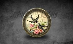 Bird  Handmade Vintage Bronze Dresser knobs cabinet by jade4wood
