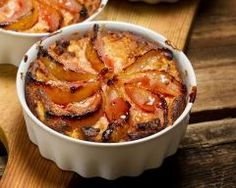 Gratin de poires, bananes et caramel : http://www.cuisineaz.com/recettes/gratin-de-poires-bananes-et-caramel-57268.aspx