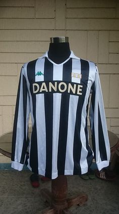 0e3f36847 JUVENTUS FC 1992-1993 UEFA CUP CHAMPION DEL PIERO VINTAGE JERSEY KAPPA SHIRT  M Juventus