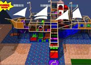 Themed indoor Playground System affordable contained climbing frame OC303TMSfortold
