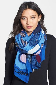 Diane von Furstenberg Wool Scarf available at #Nordstrom