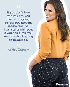 """Model Ashley Graham Had an Epic Response to a Comment on Her """"Baby Belly"""" – Body Positivity - Agli Ashley Graham, Body Positive Quotes, Positive Body Image, Body Confidence, Confidence Quotes, Body Love, Loving Your Body, Curvy Quotes, Affirmations"""