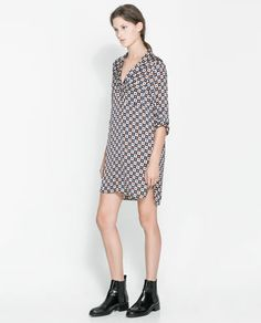 ZARA - NEW THIS WEEK - RETRO PRINT TUNIC