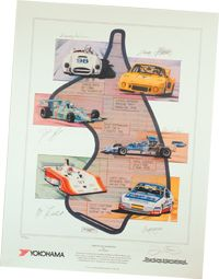Commemorative Limited Edition Poster | Canadian Automobile Sport Clubs - Ontario Region