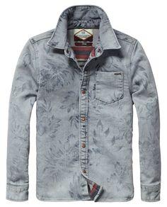 Sweat shirt met print | Shirt l/s | Jongenskleding bij Scotch & Soda