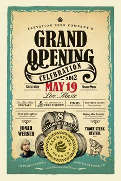 Grand opening poster ideas coffee shop opening flyer google search