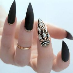 Fab Ideas for Stiletto Nails Designs