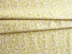 DAISY JANIE(デイジージェイニー)Daisies 'N Such Boxwood Chartreuse ツゲの葉っぱ柄(グリーン) / 輸入生地の通販ショップ jumble shop one