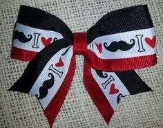 mustasch bow