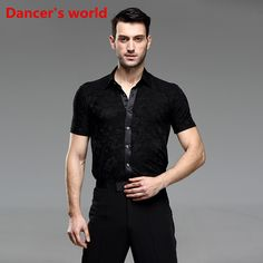 Cheap latin dance costumes, Buy Quality mens latin shirts directly from China latin shirt Suppliers: 2017 Short Sleeves Round Neck Mens Latin Shirts Dance Top Ballroom Latin Dance Costumes Stage Clothing For Men Ballroom Clothes