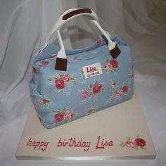 Cath Kidston Handbag  Cake by TheCakeArtist