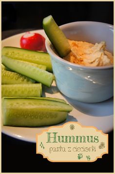 hummus+1+of+1kolor Hummus, Pickles, Cucumber, Mario, Food And Drink, Gluten Free, Healthy, Diet, Glutenfree