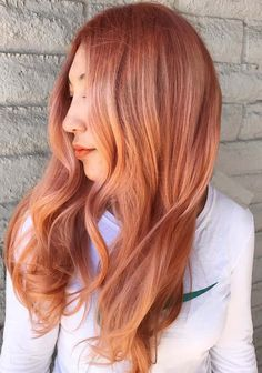 70 Charming Red Copper Hair Colors for Long Hairstyles in 2018