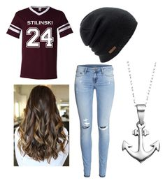 """""""Teen wolf lacrosse game"""" by mikayla-r-b-lang on Polyvore featuring H&M, Coal and Journee Collection"""