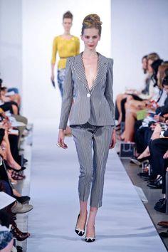 Spring 2013 Trend: Stripes (Oscar de la Renta)