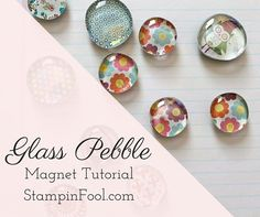 Step by step tutorial for DIY glass pebble magnets craft: How to Make, Personalize, Package, Price & Sell for arts and craft fairs Craft Show Ideas, Easy Craft Projects, Easy Diy Crafts, Diy Ideas, Nifty Crafts, Ideas Para, Crafts For Teens To Make, Crafts To Sell, Kids Crafts