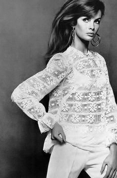 deshistoiresdemode:  Jean Shrimpton by David Bailey _Vogue UK, 1966.