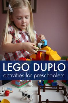 Toddler Approved!: Awesome LEGO® DUPLO® Activities for Preschoolers plus a $50 LEGO gift card giveaway #LegoDuplo #Sponsored