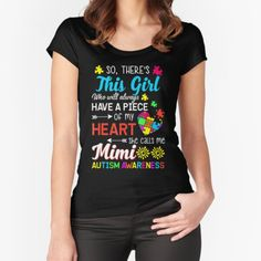 Womens Mens Theres This Girl She Call Me Mimi Auti T-Shirt • Millions of unique designs by independent artists. Find your thing. Cheap Mothers Day Gifts, Homemade Mothers Day Gifts, Mothers Day Gifts From Daughter, Mothers Day T Shirts, Mothers Day Quotes, Mothers Day Crafts, Grandma Gifts, Mother's Day Gift Baskets, Preschool Gifts