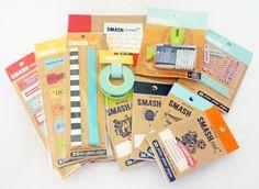 SMASH: novelty stationery/scrapbooking;