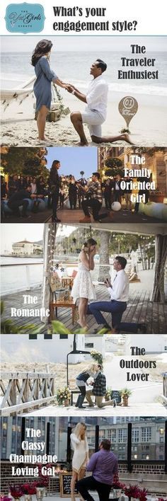 What's Her Engagement Style? Find her style and proposal ideas here - What's Her Engagement Style? Find her style and proposal ideas here - Romantic Proposal, Perfect Proposal, Wedding Proposals, Marriage Proposals, Wedding Goals, Dream Wedding, Wedding Ideas, Wedding Engagement, Engagement Photos