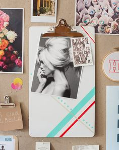 inspiration board- I need one of these!