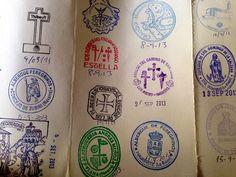Maybe some day???Credencial del peregrino | Santiago de Compostela