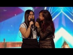 Ana and Fia - Britain's Got Talent 2016 Audition week 6 - YouTube  They are from Indonesian.WOW!!