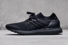 The custom adi kicks feature an all matte black finish, inspired by Mr. Levant.