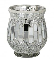 Sparkle Mosiac tealight Holder To order pls visit  http://www.lmrhome.com/?wpsc_product_category=candles-holders
