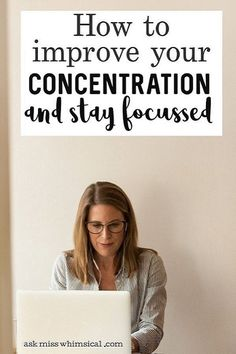 How To Improve Your Focus And Concentration Learn how to improve your focus and concentration power so that you can pay attention to things that are important to your success. Self Awareness, Mental Health Awareness, Self Development, Personal Development, Karma, Hard To Concentrate, Meditation Exercises, How To Focus Better, Social Media Detox