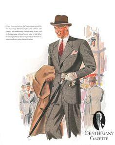Hänsel Echo & German Fashion in the 1930's — Gentleman's Gazette