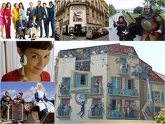 French comedy films collage Cinema, Love French, Comedy Films, Cannes, Polaroid Film, Collage, Humor, My Love, Character