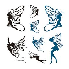 Tinker bell and the pirate fairy temporary tattoo by fairy tattoos cute evil small fairy tattoo designs and ideas Fairy Silhouette, Silhouette Images, Small Fairy Tattoos, Small Tattoos, Fairy Tattoo Designs, Tattoo Designs For Women, Tinker Bell, Pirate Fairy, Fairy Drawings