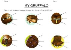 The Gruffalo worksheets - Worksheets based around Julia Donaldson's The Gruffalo, useful when looking at grammar and punctuation.