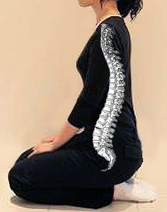 """Seiza"" proper sitting is keeping your spinal column straight."
