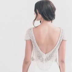 Simplicity & beaded back perfection ✨ Good morning weekend // Few…