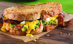 Laura Werlin's Chips & Guacamole Grilled Cheese.