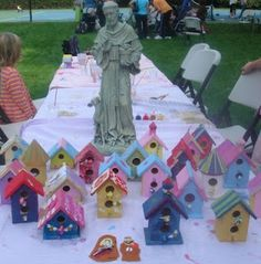Crafts for children about St. Francis