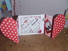 Tarjeta de corazón super facil Valentine Crafts, Valentines, Ideas Aniversario, I Love You S, Diy Chalkboard, Saint Valentine, Some Ideas, Mini Albums, Birthday Cards