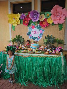 Moana Birthday Party Ideas | Photo 1 of 17