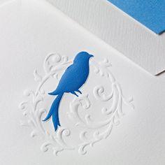 Hand Engraved Aviary Bird