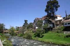 Cuenca, Ecuador - Our gaggle of ladies spent some quality time walking the river until our rooms were ready. I remember this view well.