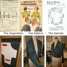 This is what all the excitement is about -  a solution to a popular dilemma. See it on the blog - http://studiofaro-wellsuited.blogspot.com.au/  Come to our workshops - http://www.studiofaro.com/introductory