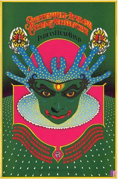 Steppenwolf, Charley Musselwhite and Indian Head Band at Avalon Ballroom 4/19-21/68 by Robert Fried