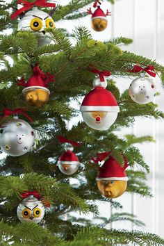 """Alessi presents Le Palle Presepe, """"Christmas Baubles"""" by Marcello Jori and LPKW! Christmas Tree Ornaments, Christmas Time, Christmas Decorations, Xmas, Holiday Decor, Christmas Ideas, Alessi, Ball Ornaments, Sweet Home"""