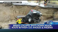 'Saved By the Grace of God': Driver Prays for 3 Hours While Hanging from Collapsed California Bridge | Fox News Insider
