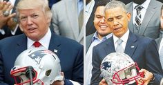 Standing on the brink of military confrontation with North Korea and a potential campaign in Syria, President Donald Trump is focused on what matters: the New England Patriots' visit to the White