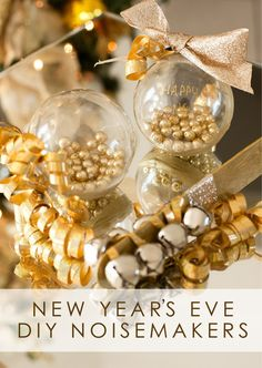 These sophisticated noise makers are fun to make, too, especially by older kids. | 19 Creative And Fun Ways To Celebrate New Year's Eve With Kids