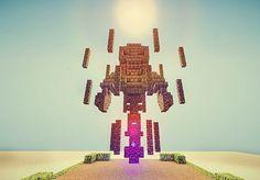 Minecraft Statues, Minecraft Structures, Minecraft Castle, Minecraft Medieval, Minecraft Buildings, Minecraft Images, Minecraft Tips, Minecraft Tutorial, Minecraft Crafts